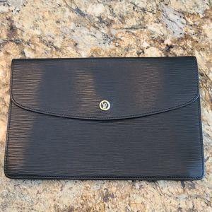 Louis Vuitton Epi Envelope Clutch Bag Vintage